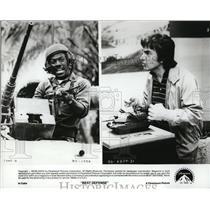 1984 Press Photo Eddie Murphy & Dudley Moore in Best Defense - cvp31086