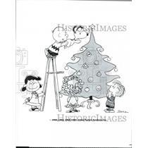 1988 Press Photo A Charlie Brown Christmas - cvp39970