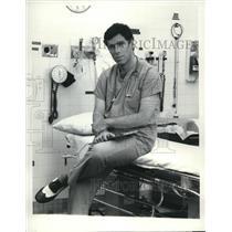 1984 Press Photo Elliott Gould of E/R - cvp34252