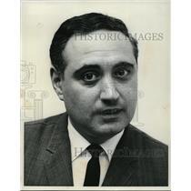1966 Press Photo Dominick J. Yovino, Cleve. dist., sales mgr., Japan Airlines.