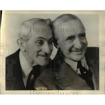1930 Press Photo Joe Weber and Lew Fields - cva47451
