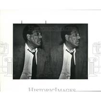 1990 Press Photo Mug Shot of Robert R Thompson - cva43820