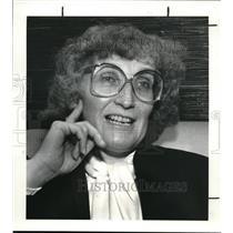 1984 Press Photo Eileen Roberts of ACLU - cva41172
