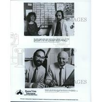 1987 Press Photo Producers Tom Ruzicks & Alan Zaslove of Duck Tales - cvp40367