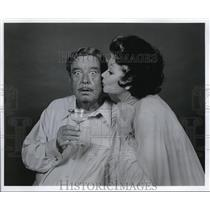Undated Press Photo Jackie Gleason Lucille Ball In Three For Two - cvp33201