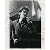 1982 Press Photo Huey Lewis - cvp38193