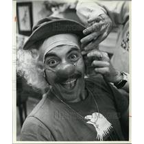 1981 Press Photo Tony Orlando as a Clown - cva48204