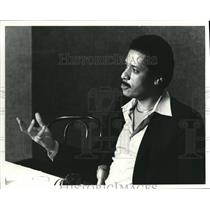 1981 Press Photo Max Robinson on ABC - cva42030