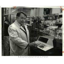 1979 Press Photo Lottery Director Edwin Taylor - cva45102