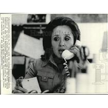 1973 Wire Photo Carol Kummerfeld plans to deal issues about racial and sex
