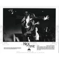 1995 Press Photo Johnny Depp & Christopher Walken in Nick of Time - cvp30382