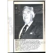 1976 Wire Photo Chief Justice Warren E. Burger said Saturday that federal
