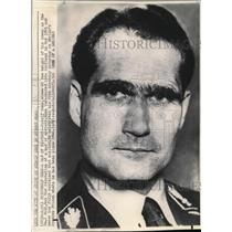 1969 Wire Photo Rudolf Hess at the height of power as the No.2 Nazi - cvw01645