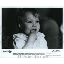 1986 Press Photo Jennifer Moret in 3 Men and a Cradle - cvp38458