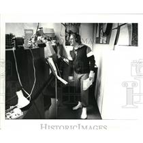 1984 Press Photo DJ Paul Tapie of WGAR - cva43913