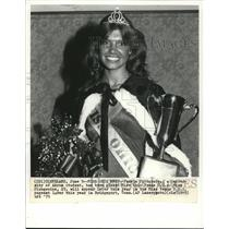 1979 Press Photo Pamela Pirogowicz, Miss Ohio to join in the Miss Universe