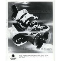 1988 Press Photo Bobby MfFerrin in Santabears High Flying Adventures - cvp40127