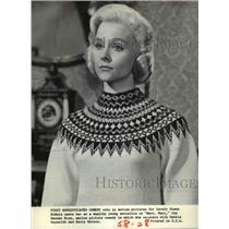 1964 Press Photo Diane McBain In Mary Mary - cvp36067