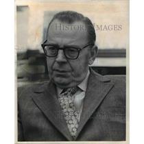 1972 Press Photo Attorney Craig Spangen Burg - cva46226