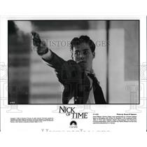 1995 Press Photo Johnny Depp in Nick of TIme - cvp30377