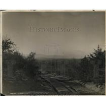 1922 Press Photo California Roads