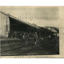 1924 Press Photo Train Station in Cordoba Mexico