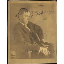 1910 Press Photo Walter L. Fisher, United States 25th Secretary of Interior.