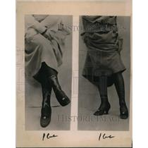 1922 Press Photo Ladies hosiery features Salome nude figure, or jet beads