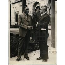 1928 Press Photo Herman E Willis a leader of Brotherhood of Engineers.