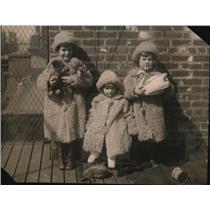 1922 Press Photo Kermit Roosevelt Children Kermit Jr Belle Wyatt Joseph Willard