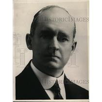 1922 Press Photo George W Whittemore , ex president of Chamber of Commerce.