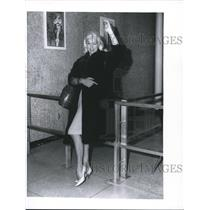 1950 Press Photo Actress Diana Dors