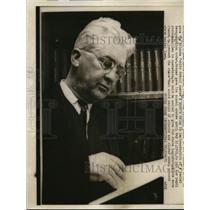 1960 Press Photo Judge Frank Hooper gives Atlanta Public Schools a year.