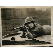 1924 Press Photo Mrs. Maurice Goodchild, best markswoman of England - nez20625