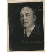 1920 Press Photo William T Tyler Director of Oper Railroad Administration