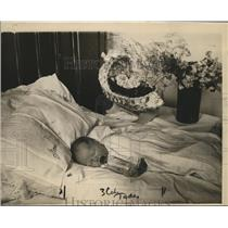 1919 Press Photo President Wilson's Week Old Grandson & Namesake of Philadelphia