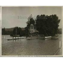 1926 Press Photo Thames & Leander Rowing Club Competing Challenge Club Event