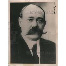 1923 Press Photo Yves Le Trocquer Minister of Public Works France - nex90191