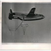 1960 Wire Photo Modified C119 Air Force Cargo Plane recovered the space capsule