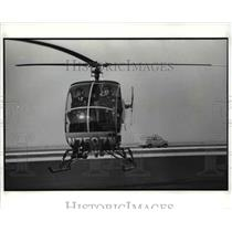 1989 Press Photo The Police Helicopter - cva75675