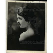 1918 Press Photo Millie Duncan Works in Canteen in France Niece of Congressman