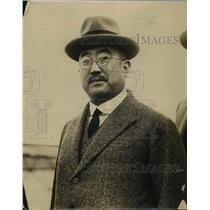1925 Press Photo Tsunep Matsudaira Japanese Ambassador to US - nex91747