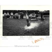 1991 Press Photo A Rocket owned by Jack Thompson - cva76092