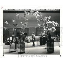 1983 Press Photo 11th Annual Garden Center flower fair on Terminal Tower