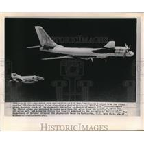 1963 Wire Photo The Soviet plane was detected by radar from the carrier