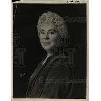 1923 Press Photo Helen Varrick Bosewell President of the Womens Forum
