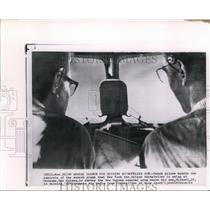 1961 Wire Photo Dutch pilots use plane during the Rockefeller son search