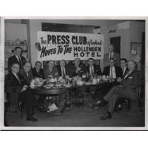 1980 Press Photo Members of the Press Club of Cleveland meeting - cva75651