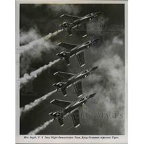 Press Photo The Blue Angels, U.S.Navy Flight Demonstration Team - cva79375