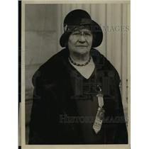 1930 Press Photo Mrs. Lowell F. Hobart, Chairman of the Patriotic Conference.